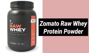 Zomato Raw Whey Protein Powder Review in Hindi