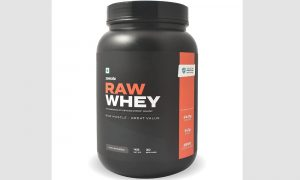 Zomato Raw Whey Protein Review in Hindi
