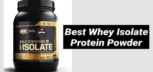 Best Whey Isolate Protein Powder