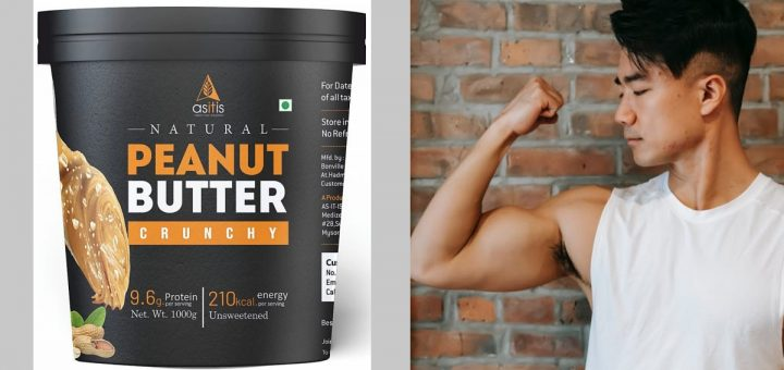 Best peanut butter for muscle gain in India