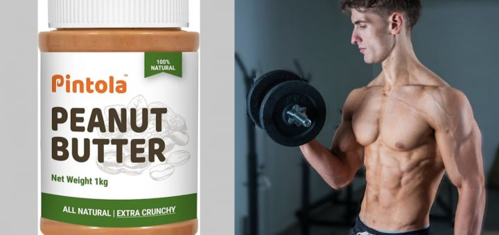 Best peanut butter for weight gain in India